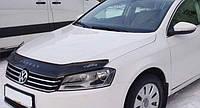 Дефлектор капота (мухобойка) Volkswagen VW Passat B7 2010-2015 euro, Vip Tuning, VW37