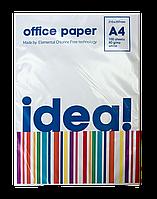 Офисная бумага Idea А4, 80 г/м2, 100 л