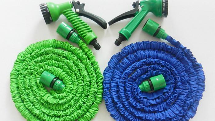 Компактный шланг X-hose с водораспылителем 75 м