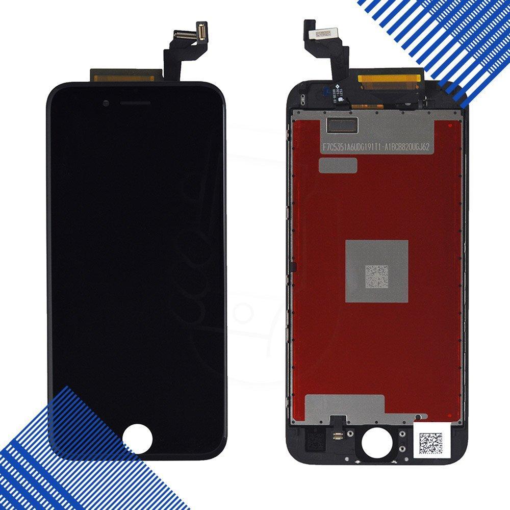 Дисплей iPhone 6S с тачскрином в сборе, цвет черный, копия высокого качества, уценка