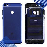 Задняя крышка для Huawei P Smart Enjoy 7s (FIG-L31 FIG-LX1), цвет синий