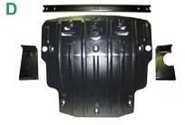 Защита картера SKODA Octavia A7 v-1.4TSi/1.8T/2.0TDi (2013-...)