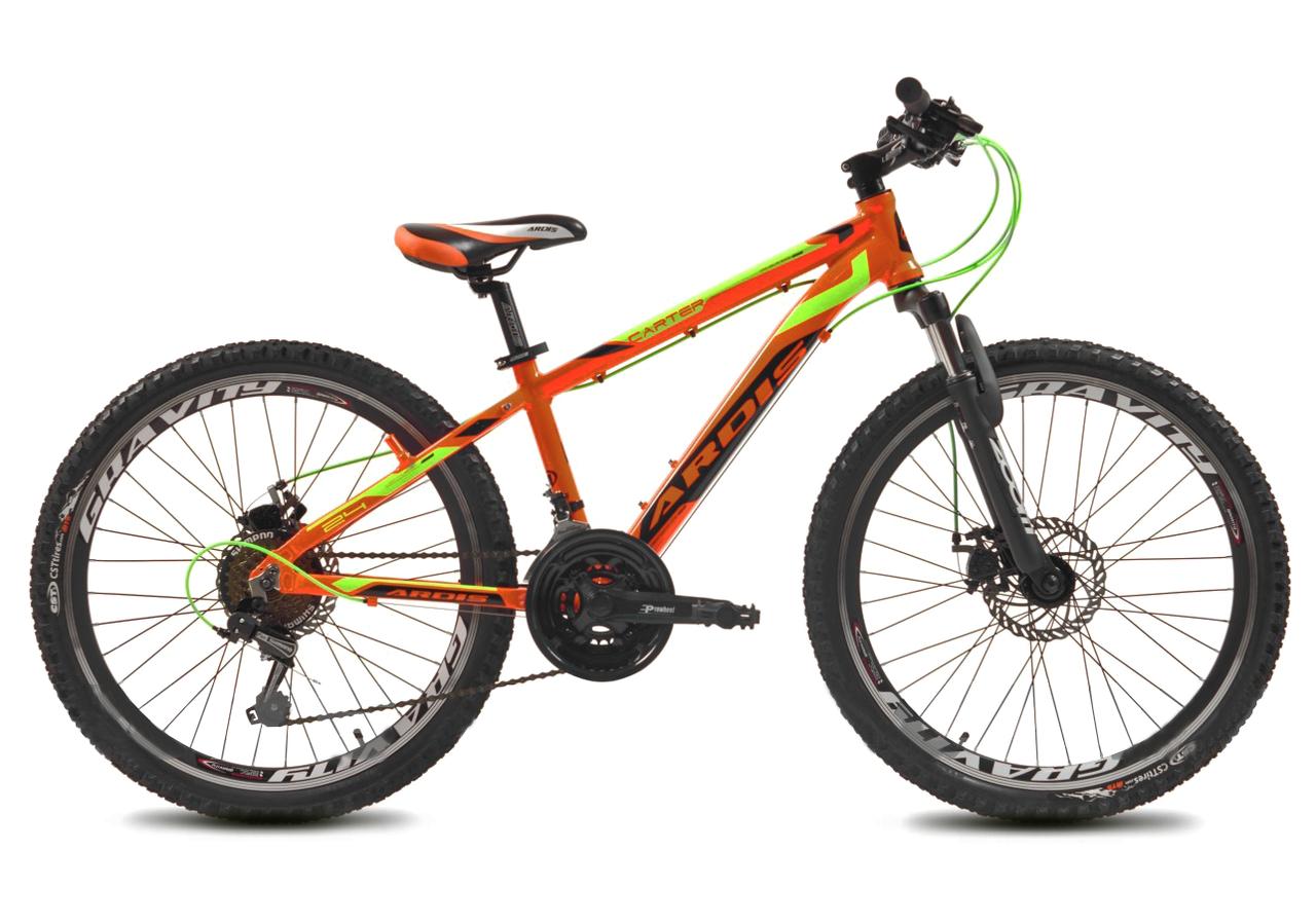 """Підлітковий велосипед ARDIS CARTER 24"""" Помаранчевий"""