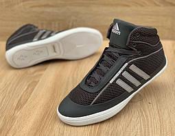 Спортивные  кроссовки кожаные