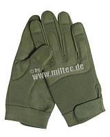 Тактические перчатки армейские ОЛИВА
