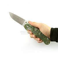 Нож складной для походно-полевой кухни, охоты, рыбалки и туризма