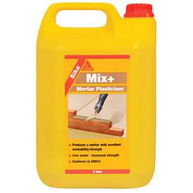 Пластификатор для кладки и штукатурки Sika Mix Plus (Сика Микс Плюс) (5 кг)