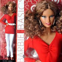Коллекционная кукла Барби Базовая модель /Barbie Basics Model №2 Collection RED, фото 6