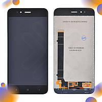 Дисплей Xiaomi Mi A1, Mi 5X с тачскрином в сборе, цвет черный, копия высокого качества, уценка