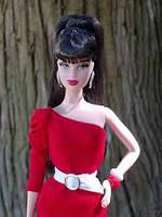 Коллекционная кукла Барби Базовая модель /Barbie Basics Model №3 Collection RED, фото 5