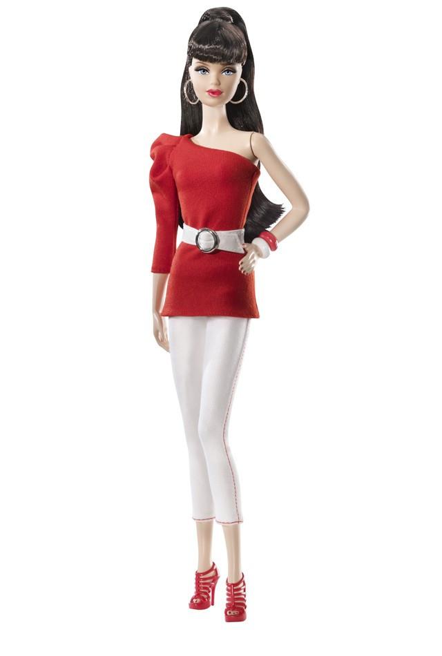 Коллекционная кукла Барби Базовая модель /Barbie Basics Model №3 Collection RED