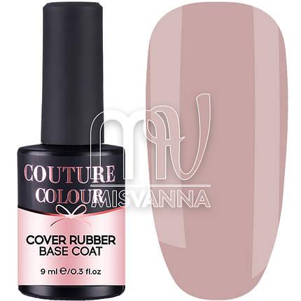 База каучуковая Cover Rubber Base Couture Colour №06, 9 мл бежево-розовый, фото 2