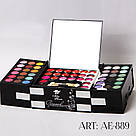 AE-889 Набор для макияжа (3 румян, 22 блеска, 123 теней)                                            , фото 2