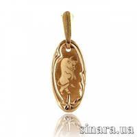 Золотая подвеска знак зодиака Телец 1754