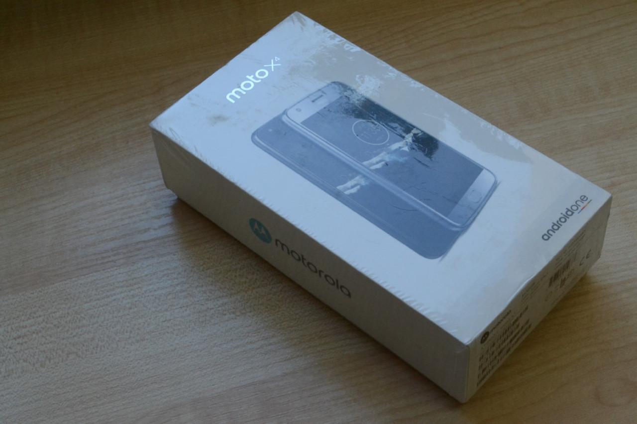 Новый Motorola Moto X4 XT1900-1 Super Black 32Gb Оригинал!