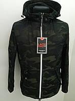 Куртка мужская демисезонная (ветровка) DSGdong 18-6065 48 Хаки