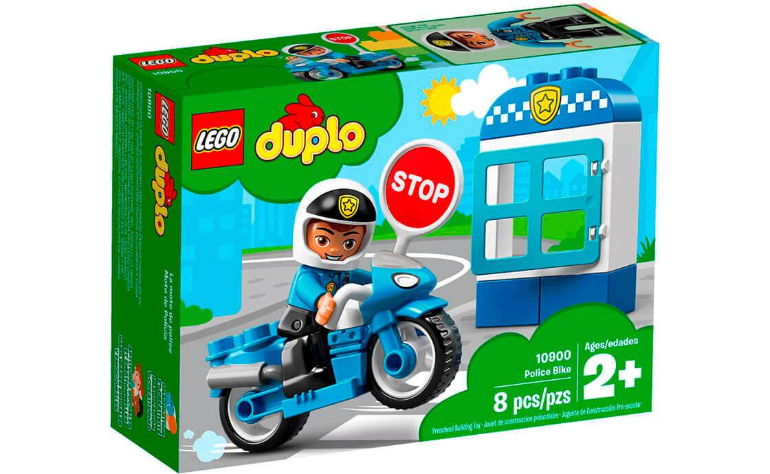 Лего Дупло Поліцейський мотоцикл 10900