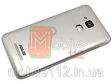 "Задняя крышка Asus ZenFone 3 Max 5.2"" ZC520TL серебристая, оригинал Китай"