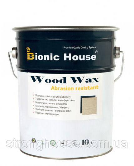 WOOD WAX Краска воск на водной основе для дерева Bionic-House 2,5л.