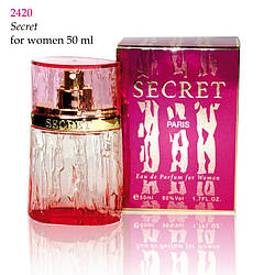 2420 SECRET Christian for women 50 ml