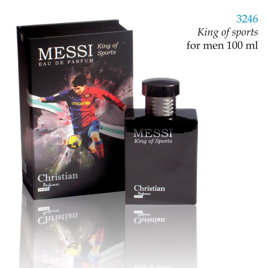 3246 KING OF SPORTS Christian for men 100 ml