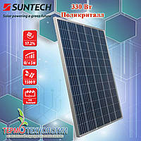 SunTech 330 Вт солнечные панели (фотомодули) STP 330-24/Vfw поликристалл 5 ВВ, фото 1