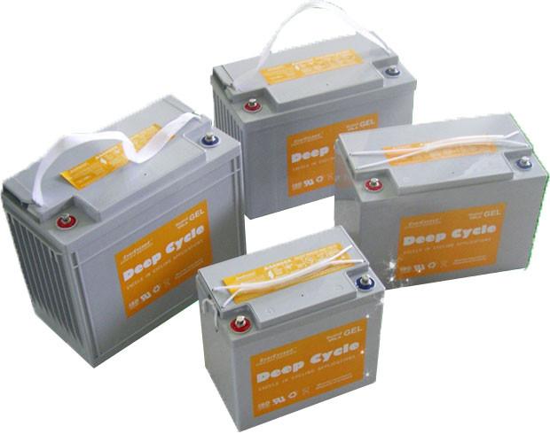 Гелевые батареи EverExceed серии Deep Cycle GEL Range