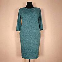 Платье женское большого размера 60 весна (54, 56, 58, 62) батал для полных женщин №300