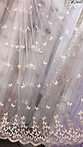 Тюль фатин бабочки , фото 3