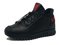 Черные женские кроссовки на резинке 36 размер