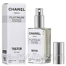Тестер DUTYFREE  мужской Chanel Egoiste Platinum, 60 мл.