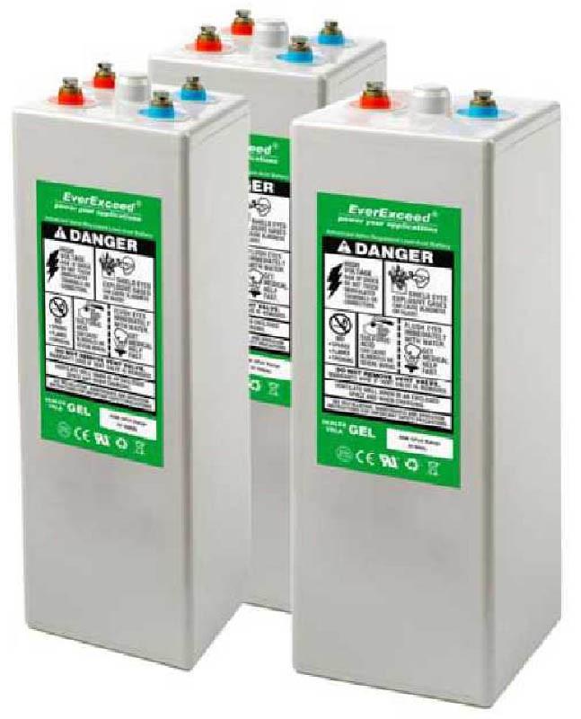 Аккумуляторные батареи EverExceed серии OPzV