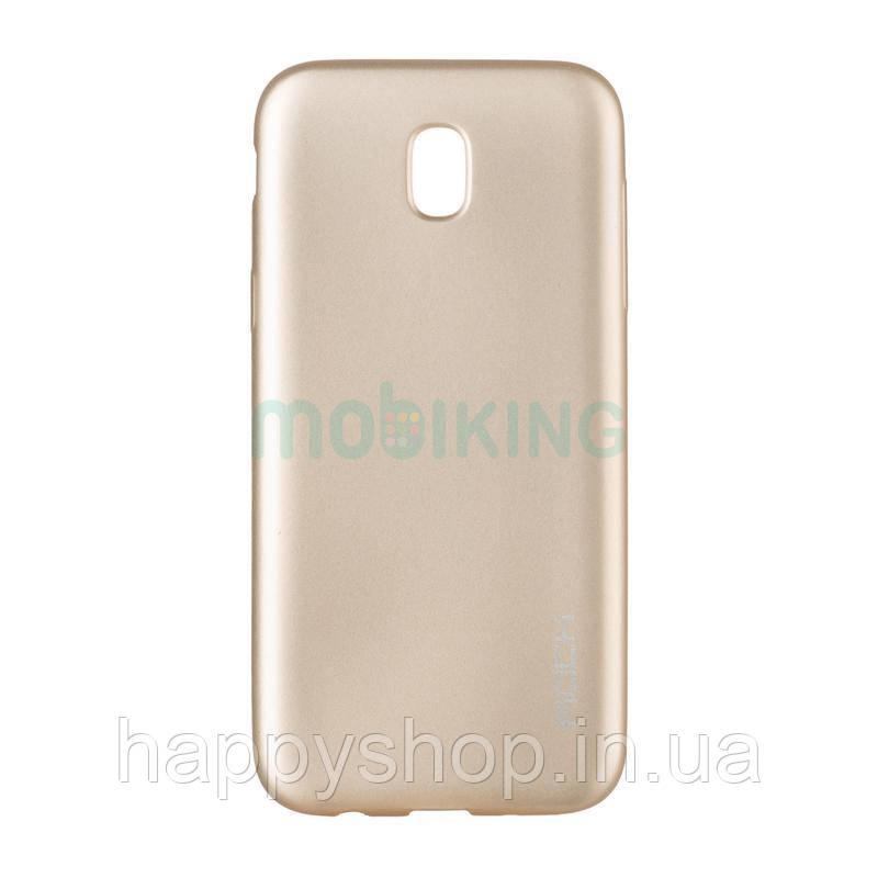 Силиконовый чехол Rock Matte Series для Samsung Galaxy J5 2017 (J530) Gold