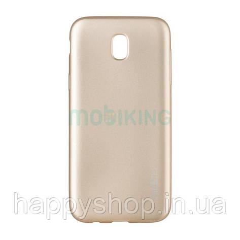 Силиконовый чехол Rock Matte Series для Samsung Galaxy J5 2017 (J530) Gold, фото 2