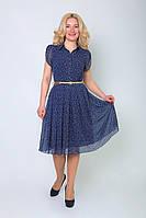 Очаровательное женское платье в мелкий горошек, фото 1