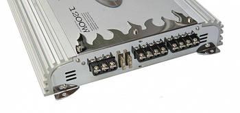 Підсилювач звуку BM Boschmann PCH-6882EX потужність звуку в машину 1200 Вт бошман автомобільний звук