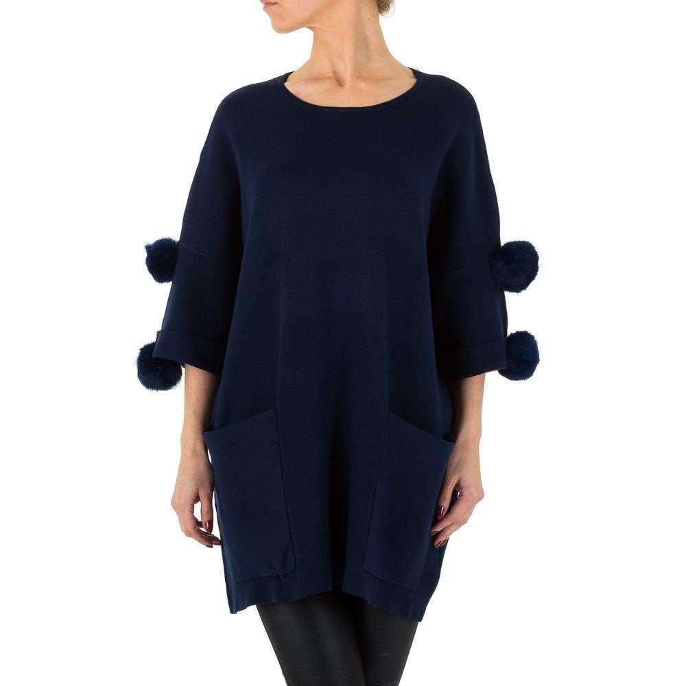 Женский свитер от Voyelles, размер One Size - DK.синий - KL-MX607-DK.синий