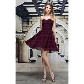 Женское платье от Festamo - фуксия - Мкл-F6432-фуксия