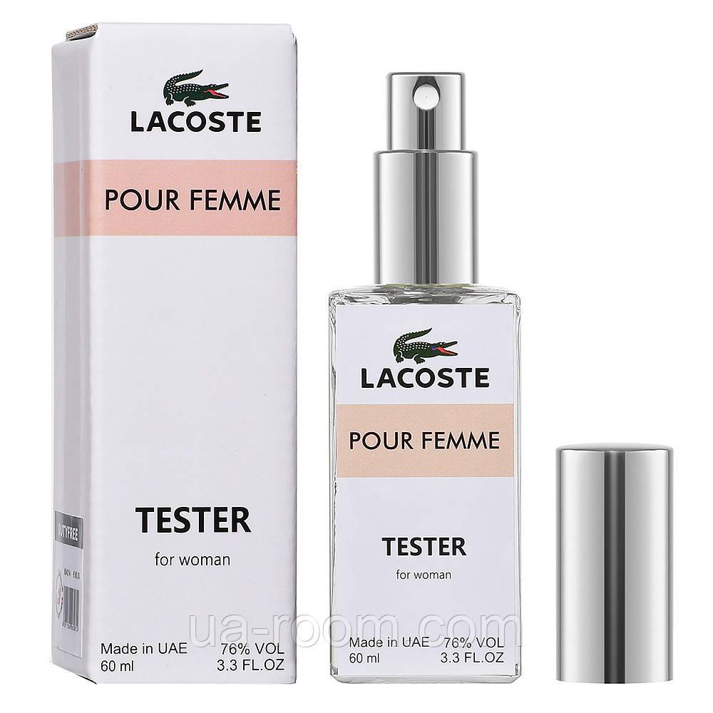 Тестер DUTYFREE  женский Lacoste Pour Femme, 60 мл.