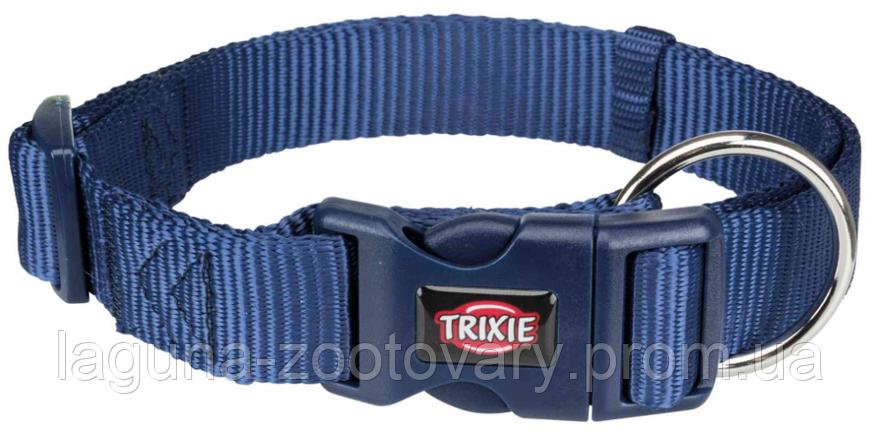 ТХ-201713 Ошейник Premium нейлон, L–XL  40–65см/25мм, индиго,  для собак, фото 2