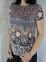 """Блуза женская 50159/3 """" Marble"""" розовая, фото 1"""