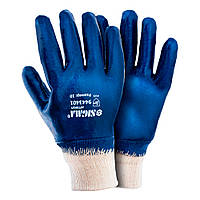 Перчатки трикотажные с нитриловым покрытием Sigma (9443401)