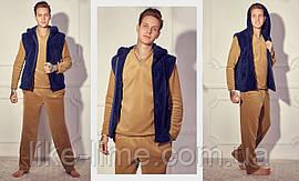 Чоловіча стильна піжама трійка