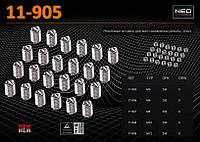 Ремонтный набор резьбовых вставок M5, NEO 11-905
