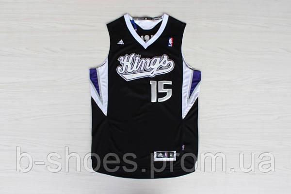 Мужская баскетбольная майка Sacramento Kings (DeMarcus Cousins) Black