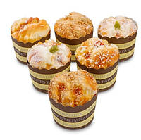 Набор из 6 декоративных кексов Сладкое угощение QS-04