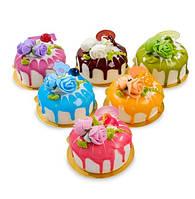 Набор из 6 декоративных десертов Цветочное великолепие QS-02