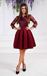Платье гипюр в расцветках 321599