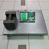 Усиленные товарные весы без стойки Олимп 102C 300кг (450х600мм)