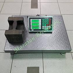 Посилені товарні ваги без стійки Олімп 102C 300кг (450х600мм)